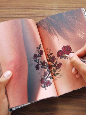 Tattoo Notebook by Kelvin Dodds