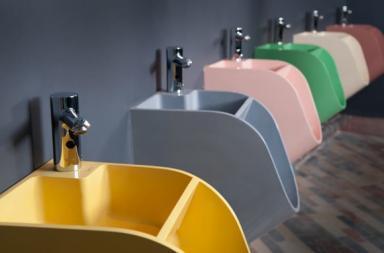 Tandem Urinal Sink