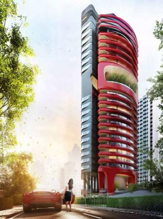 Ferra Luxury Residential Condo by Pininfarina – Singapore