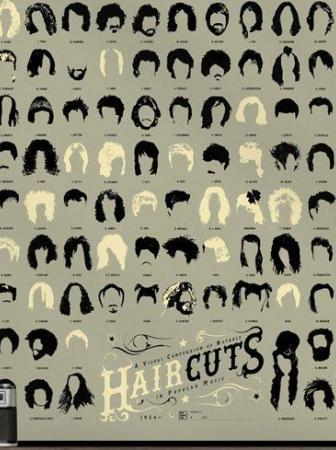 Haircuts in Pop Art Print