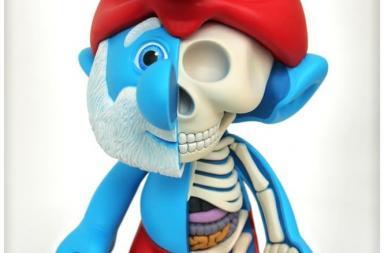 Cutaway Anatomical by Jason Freeny