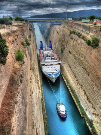 Corinthos Channel – Greece
