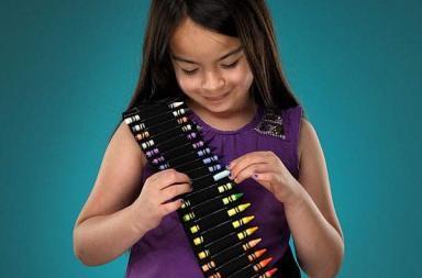Crayon Bandolier Belt