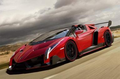 New Veneno Roadster Lamborghini