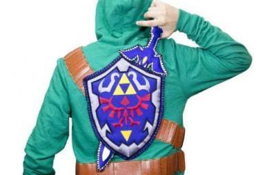 Zelda Sword and Shield Sweater