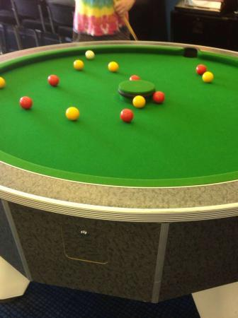 Round Pool Table