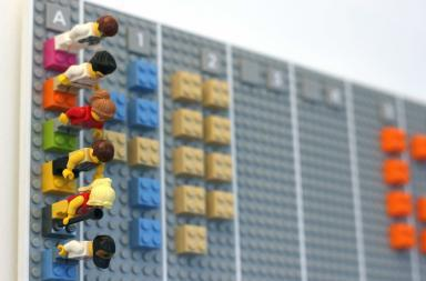Lego Calendar syncs with Google Calendar