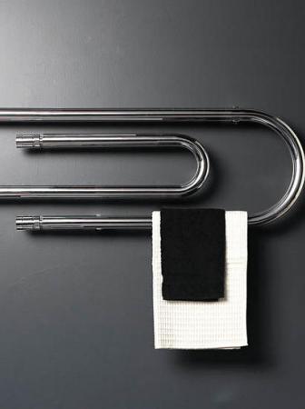 Termosifone in acciaio da muro per asciugamani