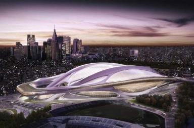 2020 Tokyo Olympic Stadium by Zaha Hadid