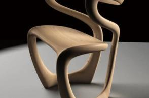 S Chair by Tom Vaughan