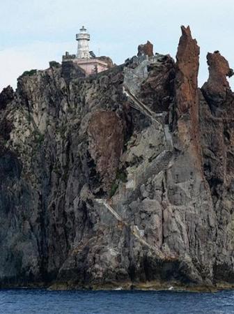 Strombolicchio Lighthouse