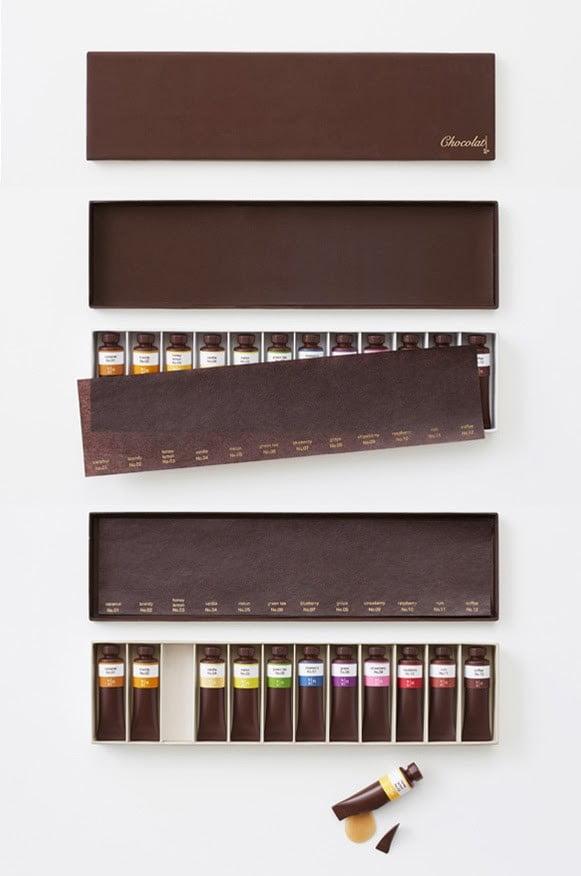 Chocolate Paint Design Miss