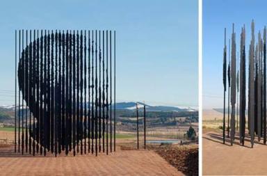 Nelson Mandela Sculpture by Marco Cianfanelli