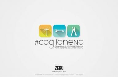#coglioneNo – Campagna di sensibilizzazione per il rispetto dei lavori creativi