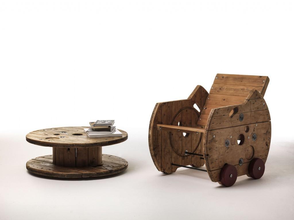 Achab Amp Bocar Arredare Con Le Bobine Industriali Design