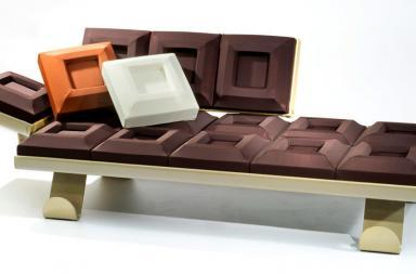 Chocolate Sofa
