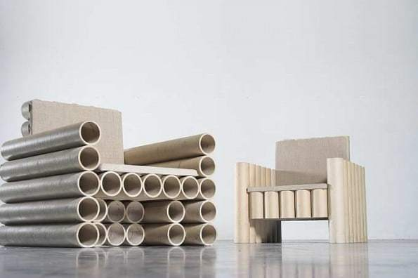 Paper Tube Chair