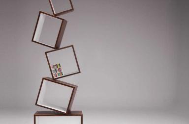 Equilibrium: la libreria scaffale di Alejandro Gomez Stubbs