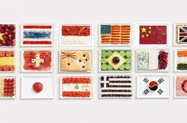 National Flags Food