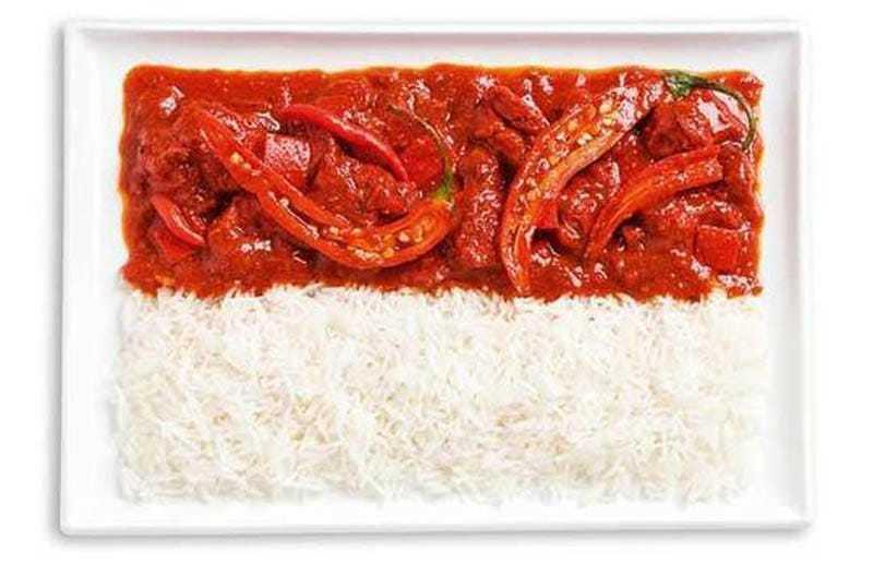 INDONESIA: curry piccante e riso