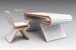 Omega Chair & Desk
