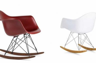 Sedia a dondolo Charles & Ray Eames