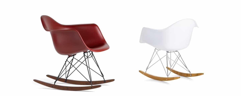 Sedia a dondolo charles ray eames design miss - Charles eames schaukelstuhl ...