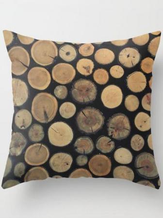 Wood Pillow