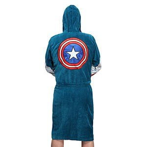 Accappatoio Capitan America bathrobe-with-hood-mask