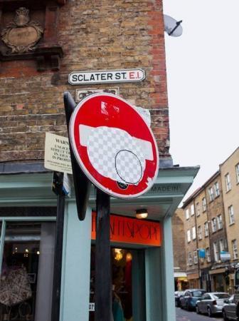 Street Eraser in London