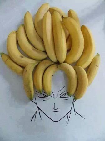 Bananas Super Saiyan