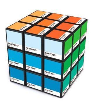 Rubitone: Rubik's Cube + Pantone