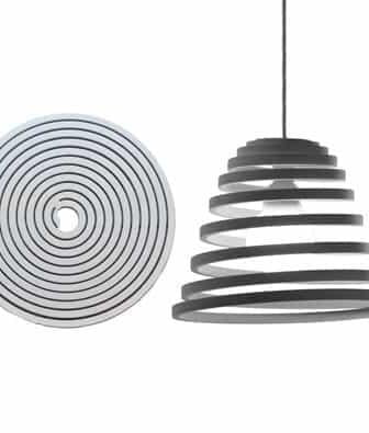 Espirale Lamp by Guillermo Cameron Mac Lean
