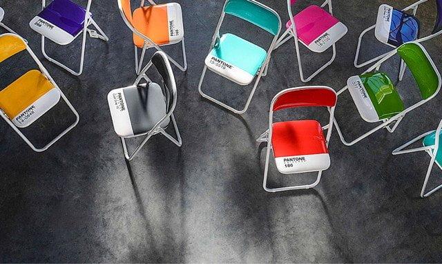 Pantone Folding Chairs - Design Miss