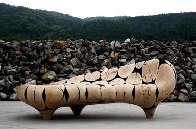 Jaehyo Lee Wood, geometrie e minimalismo
