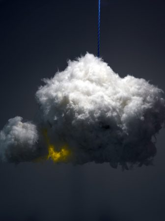 Cloud Lamp by Richard Clarkson