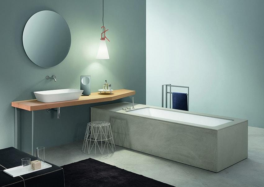 Wave, la vasca da bagno in ecocemento - Design Miss