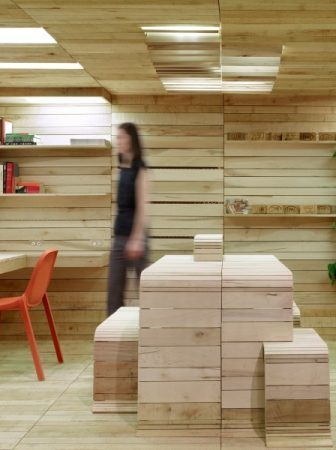 Eco Design Pop-Up Office