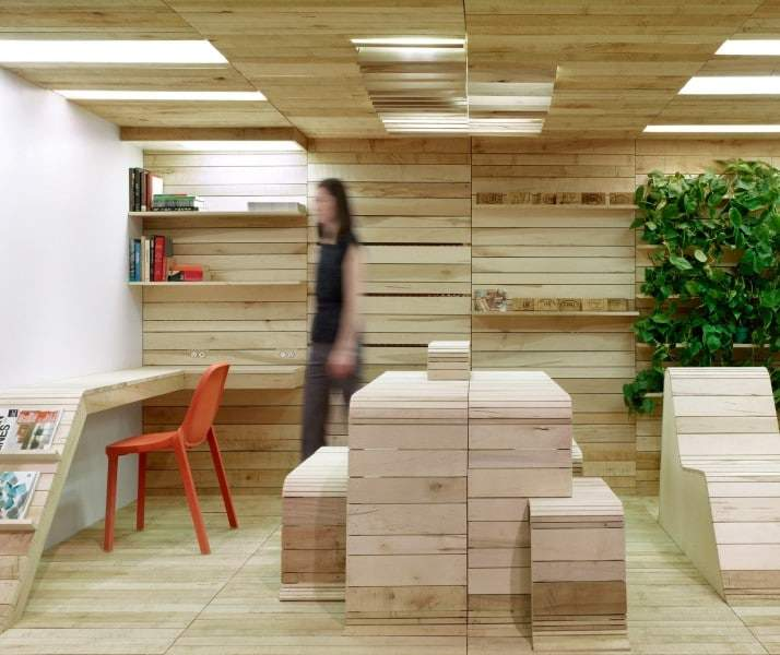Eco design pop up office design miss for Eco popup firenze