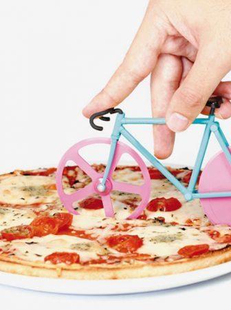 Fixie: La bici per tagliare la pizza in teglia