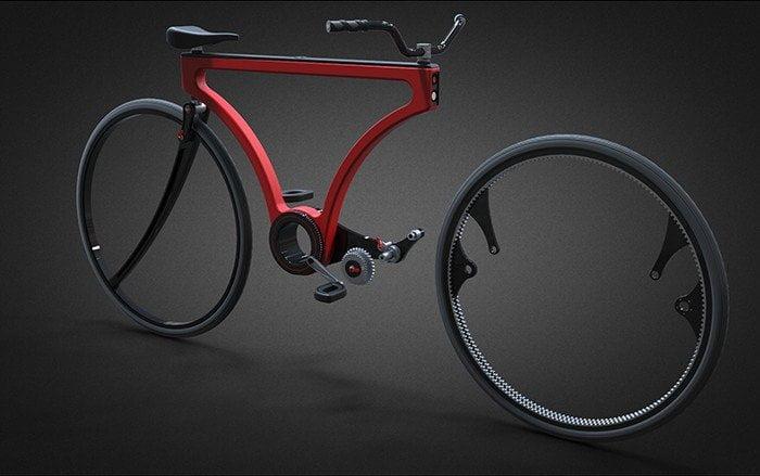 Rimozione Ruota Bicicletta