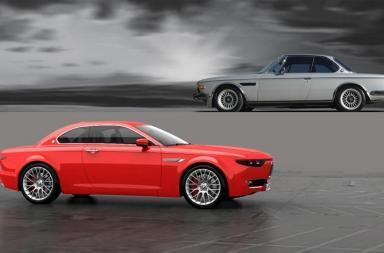 BMW CS Vintage Concept David Obendorfer