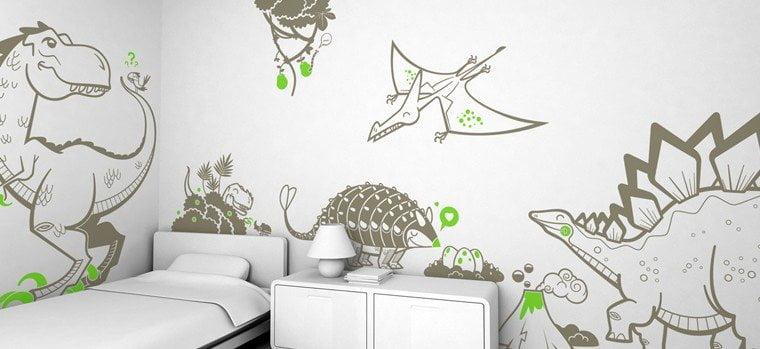 Adesivi murali animali
