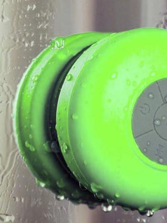 Waterproof Wireless BT Shower Speaker
