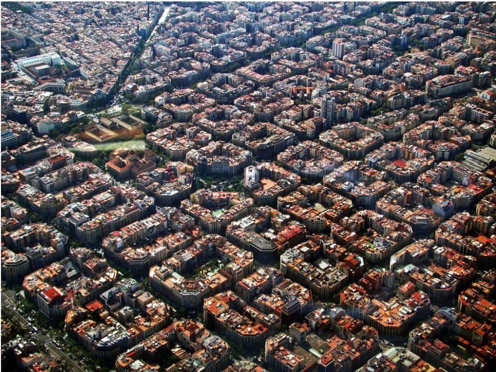 Eixample il quartiere di barcellona design miss for Quartiere gracia barcellona