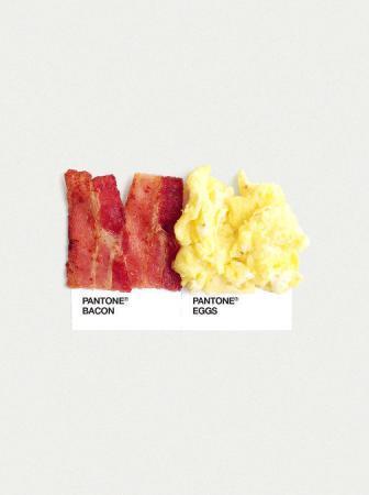 Food Art Pantone Pairings