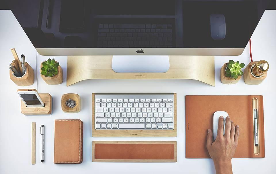 Collezione accessori da scrivania grovemade design miss