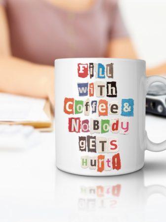 La tazza dai messaggi personalizzati