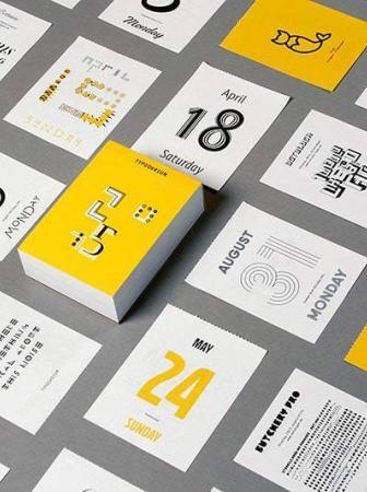 Typodarium 2015: un font per ogni giorno