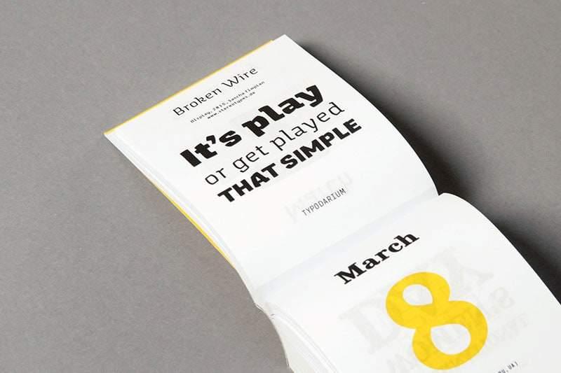 un font per ogni giorno